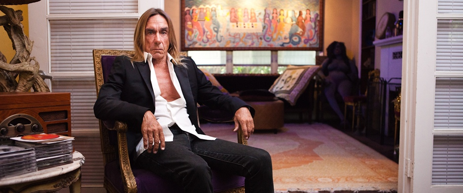 Iggy Pop pour Vente Prive