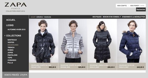 ZAPA e-commerce - Studio EMF
